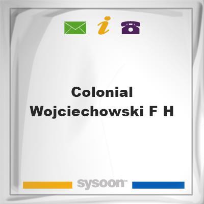 Colonial-Wojciechowski F HColonial-Wojciechowski F H on Sysoon