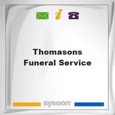 Thomasons Funeral Service, Thomasons Funeral Service