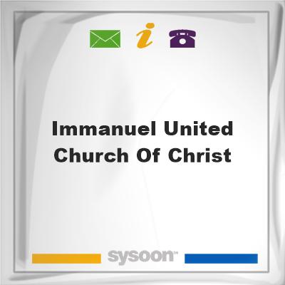 Immanuel United Church of Christ, Immanuel United Church of Christ