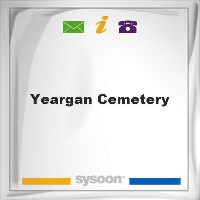 Yeargan Cemetery, Yeargan Cemetery