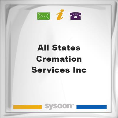 All States Cremation Services Inc, All States Cremation Services Inc