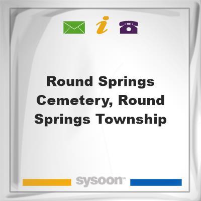 Round Springs Cemetery, Round Springs Township, Round Springs Cemetery, Round Springs Township