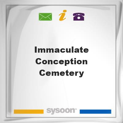 Immaculate Conception Cemetery, Immaculate Conception Cemetery