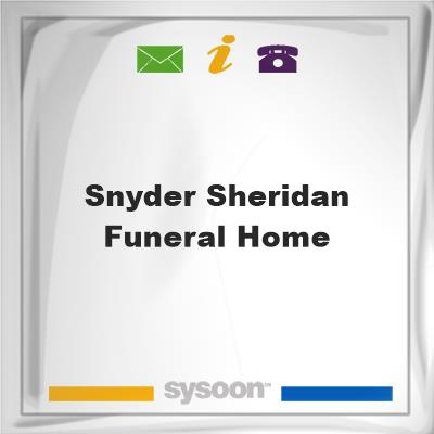 Snyder-Sheridan Funeral Home, Snyder-Sheridan Funeral Home