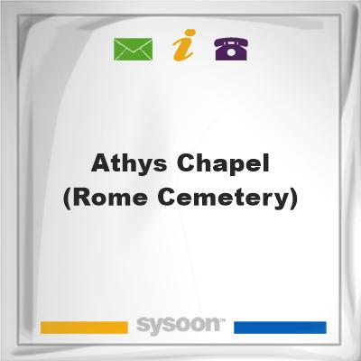 Athys Chapel (Rome Cemetery), Athys Chapel (Rome Cemetery)