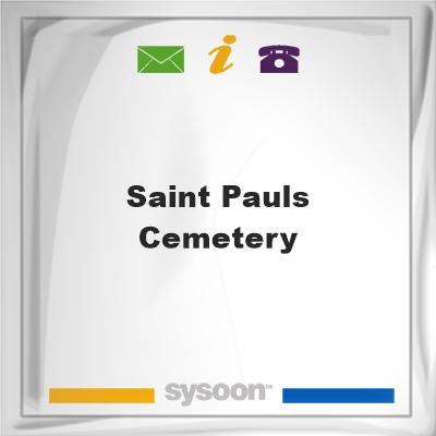 Saint Pauls Cemetery, Saint Pauls Cemetery