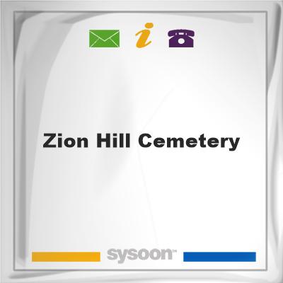 Zion Hill Cemetery, Zion Hill Cemetery