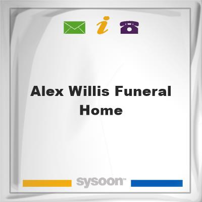 Alex Willis Funeral HomeAlex Willis Funeral Home on Sysoon
