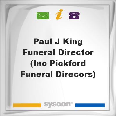 Paul J King Funeral Director (inc Pickford Funeral Direcors), Paul J King Funeral Director (inc Pickford Funeral Direcors)