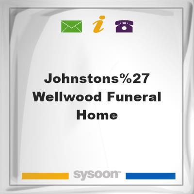 Johnstons' Wellwood Funeral Home, Johnstons' Wellwood Funeral Home