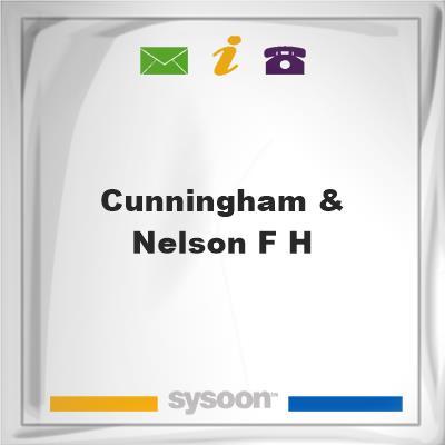 Cunningham & Nelson F H, Cunningham & Nelson F H