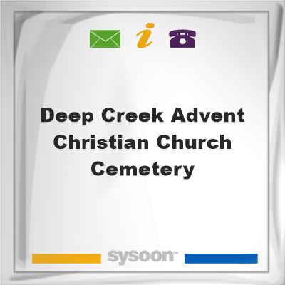 Deep Creek Advent Christian Church Cemetery, Deep Creek Advent Christian Church Cemetery