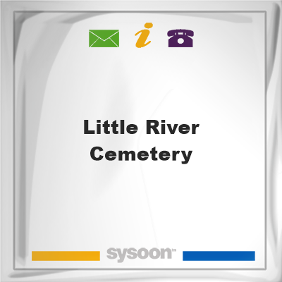 Little River Cemetery, Little River Cemetery