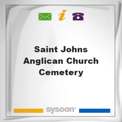 Saint Johns Anglican Church Cemetery, Saint Johns Anglican Church Cemetery