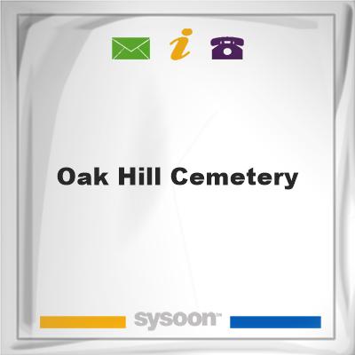 Oak Hill Cemetery, Oak Hill Cemetery