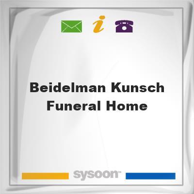 Beidelman-Kunsch Funeral HomeBeidelman-Kunsch Funeral Home on Sysoon