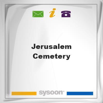 Jerusalem Cemetery, Jerusalem Cemetery