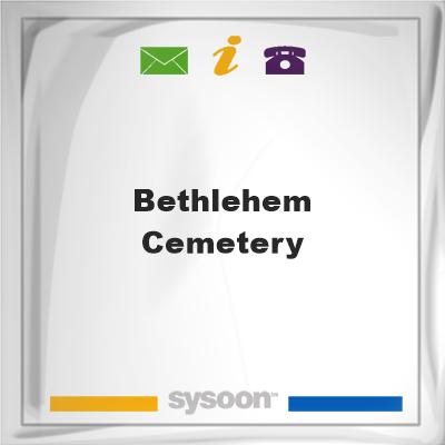 Bethlehem Cemetery, Bethlehem Cemetery