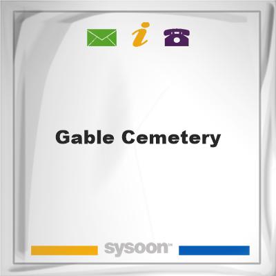 Gable Cemetery, Gable Cemetery