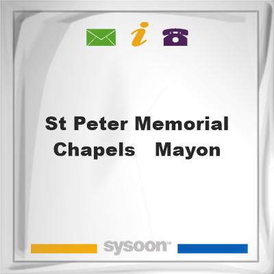St. Peter Memorial Chapels - Mayon, St. Peter Memorial Chapels - Mayon