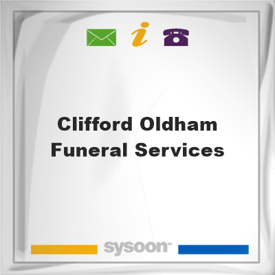 Clifford Oldham Funeral Services, Clifford Oldham Funeral Services
