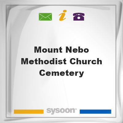 Mount Nebo Methodist Church Cemetery, Mount Nebo Methodist Church Cemetery