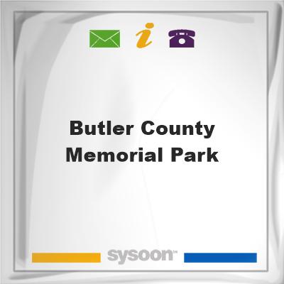 Butler County Memorial Park, Butler County Memorial Park