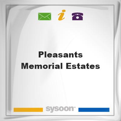 Pleasants Memorial Estates, Pleasants Memorial Estates