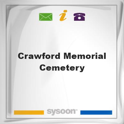 Crawford Memorial Cemetery, Crawford Memorial Cemetery