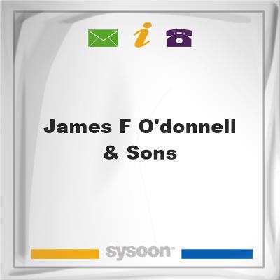James F O'Donnell & Sons, James F O'Donnell & Sons