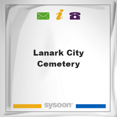 Lanark City CemeteryLanark City Cemetery on Sysoon