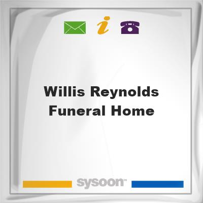 Willis-Reynolds Funeral Home, Willis-Reynolds Funeral Home
