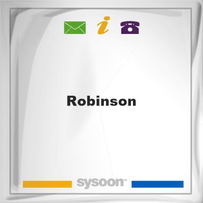 Robinson, Robinson