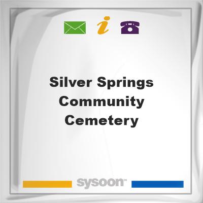 Silver Springs Community Cemetery, Silver Springs Community Cemetery