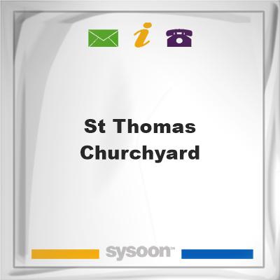 St Thomas Churchyard, St Thomas Churchyard