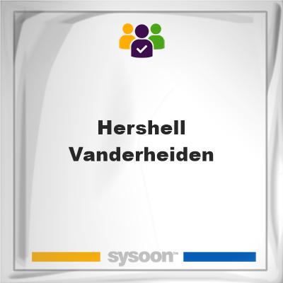 Hershell Vanderheiden, Hershell Vanderheiden, member