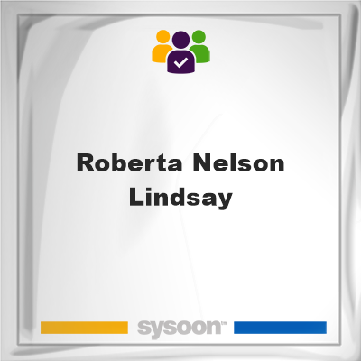 Roberta Nelson Lindsay, Roberta Nelson Lindsay, member
