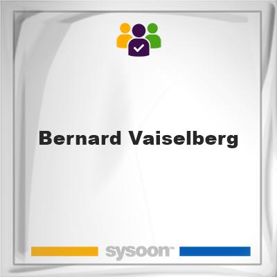 Bernard Vaiselberg , Bernard Vaiselberg , member