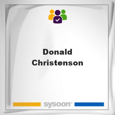 Donald Christenson, Donald Christenson, member