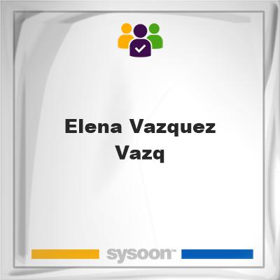 Elena Vazquez Vazq, Elena Vazquez Vazq, member