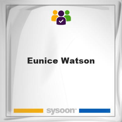 Eunice Watson, Eunice Watson, member