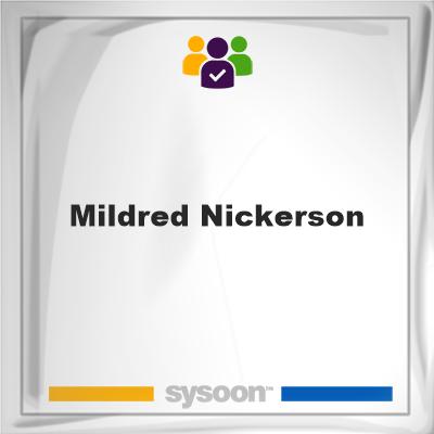 Mildred Nickerson, Mildred Nickerson, member