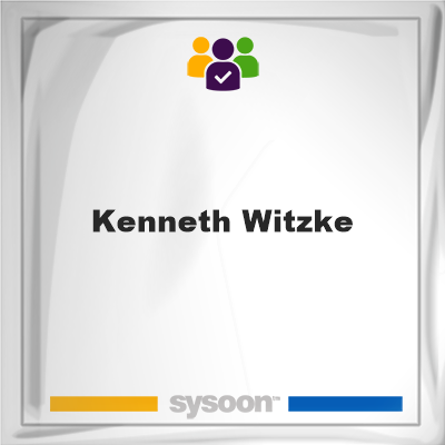 Kenneth Witzke, memberKenneth Witzke on Sysoon