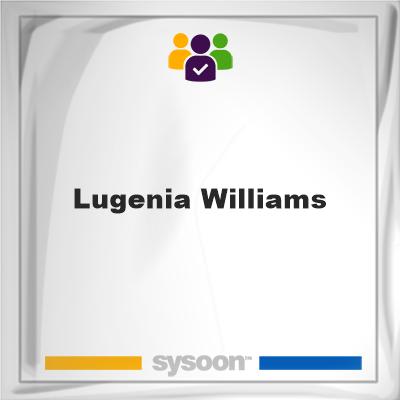 Lugenia Williams, Lugenia Williams, member