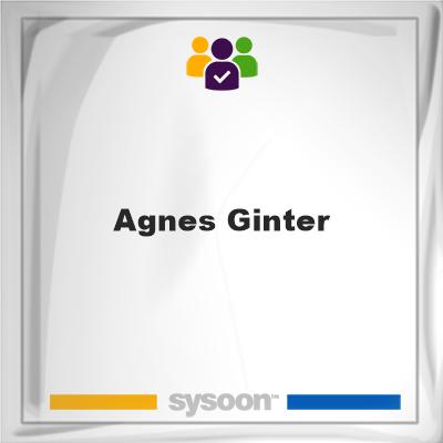 Agnes Ginter, Agnes Ginter, member