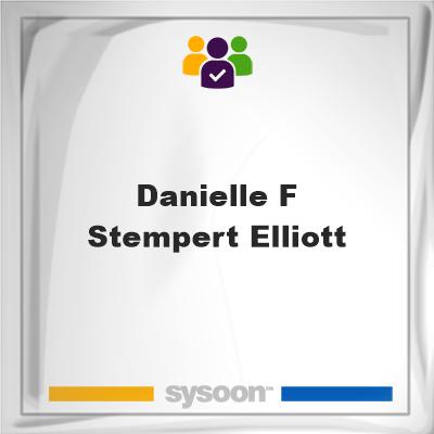 Danielle F Stempert Elliott, Danielle F Stempert Elliott, member