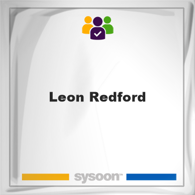 Leon Redford, Leon Redford, member