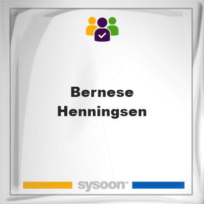 Bernese Henningsen, Bernese Henningsen, member