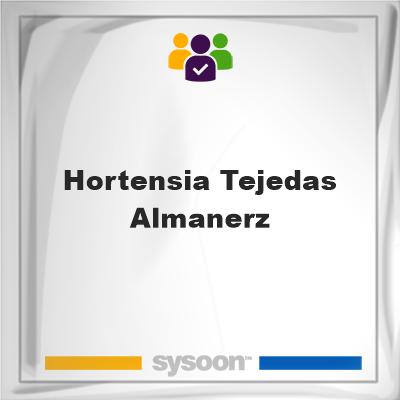 Hortensia Tejedas Almanerz, Hortensia Tejedas Almanerz, member