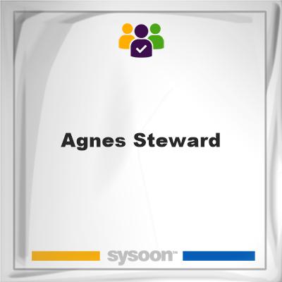 Agnes Steward, Agnes Steward, member